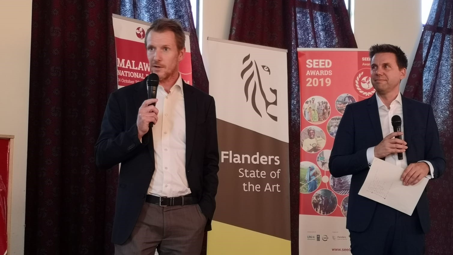 Nikolas Bosscher at SEED Awards 2019