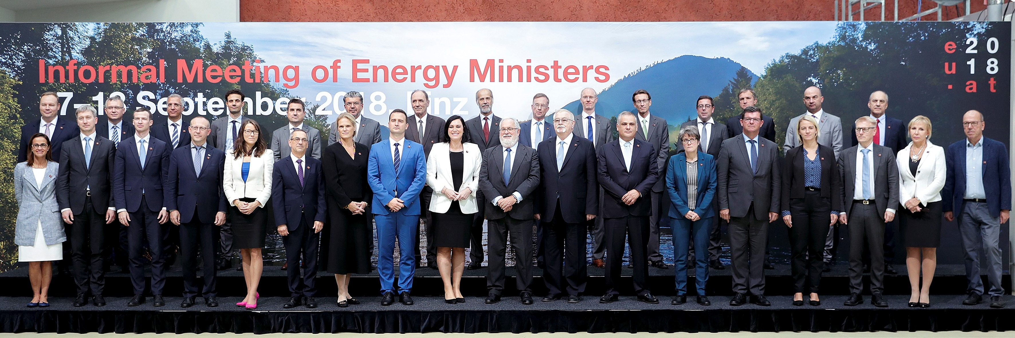 Informal meeting for Energy ministers Linz