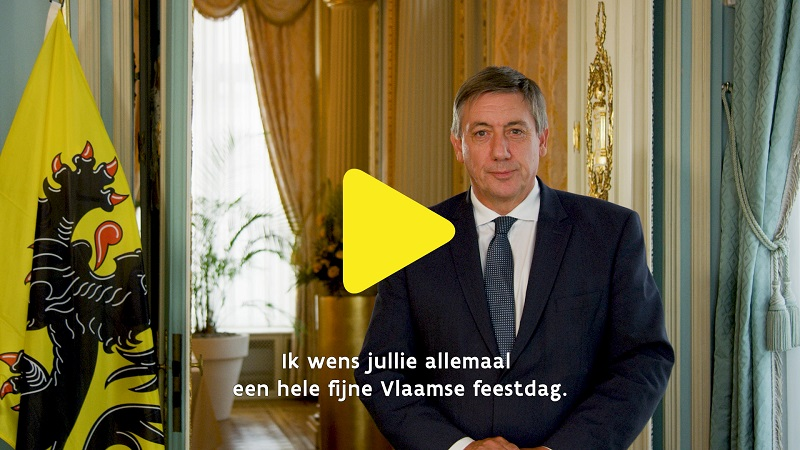 video message Flanders Day